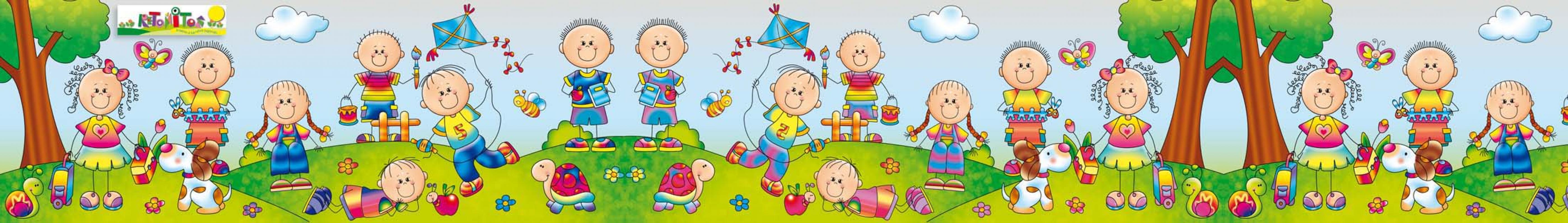 Reto itos revista para educadores y padres - Cenefas de papel infantiles ...